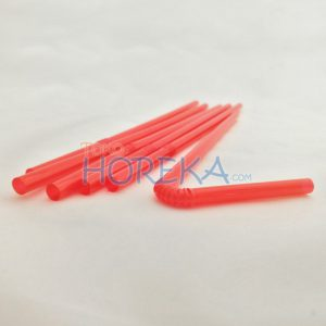 flexible red 6mm x 24cm non wp
