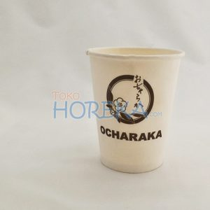 cetak logo hot paper cup